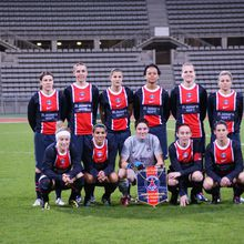 Football / Ligue des Champions féminine : P.S.G. - Francfort (2 -1)