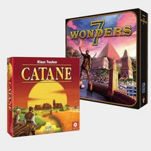 7 Wonders et Catane