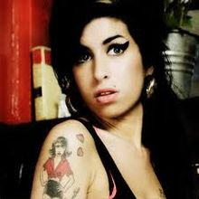 Amy Winehouse: face of an anti-drug campaign