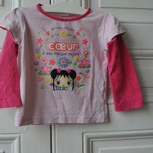 Tee shirt Ni Hao Kai Lan - Nickelodeon - 3 ans