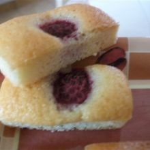 MINI FINANCIERS AUX FRAMBOISES