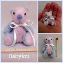 ADOPTE Babylou, ours miniature 4,5cm
