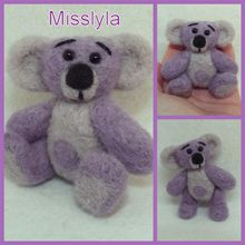 ADOPTEE Misslyla, ours miniature 7,5cm