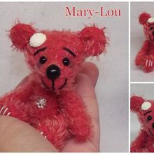 Mary-Lou, ours miniature mohair