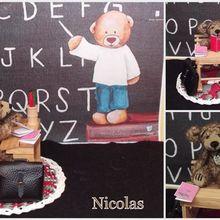 Nicolas, ours d'artiste miniature