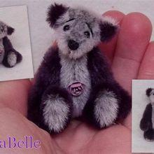 RosaBelle, ours miniature de collection
