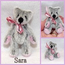 ADOPTEE Sara, ours miniature de collection