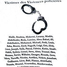Appel des familles victimes de crimes policiers
