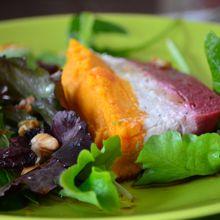 Terrine de betteraves et carottes