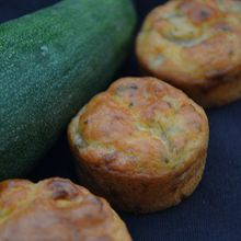 Mini muffins courgettes curry