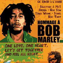 soirée HOMMAGE à BOB MARLEY - TRIBUTE TO BOB MARLEY
