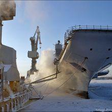 Le porte-avions indien se prépare pour des essais en mer de Barents.