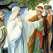 Comme Jésus se mettait en chemin