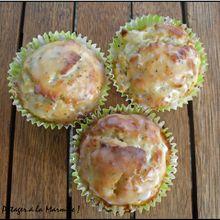 Muffin au citron et aux graines de pavot