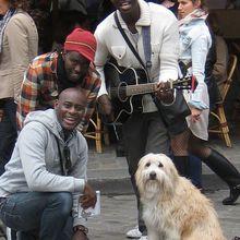 Un groupe de ... Presteej, à Montmartre !