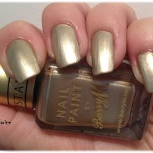 Barry M 320 ou de l'or au bout des ...................