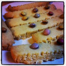 Shortbread (aux Smarties)