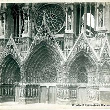 Cathédrale de Reims par le photographe Louis Partidge