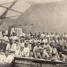 Le cantonnement au sein de la famille Abelé , pendant la première guerre mondiale.