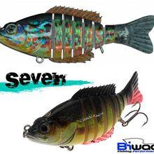 Test des leurres Biwaa Seven et S'Trout