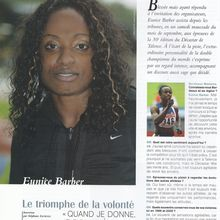 Sport - Bordeaux Madame - Eunice Barber - Octobre 2006