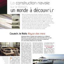 Economie - Arcachon Magazine - Chantier naval Couach - Eté 2005