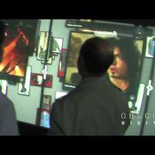 Un écran multi-touch de 5 m de long au Hard Rock Café de LA