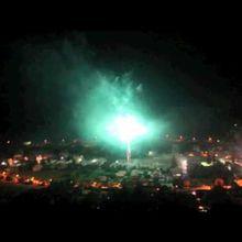 St André les Alpes photos , Vidéo du feu d'artifice du 13 juillet