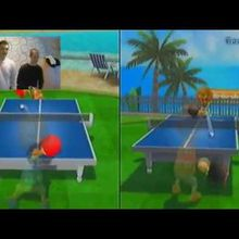 [Duel Clyde vs Linky] Ping Pong sur Wii Sport Resort