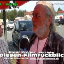 Horst Kröger in Aktion - Zusammenschnitt aus den letzten Jahren vom DGB-KulturAK / KH Röder