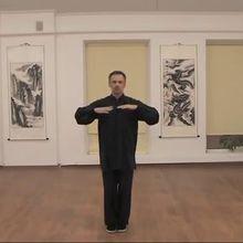 Vu sur le Web ; Daoyin Yangsheng Gong avec le Dr Butrimov ; extraits du qi gong pour nourrir les poumons et renforcer l'énergie