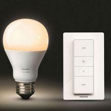 Philips commercialise un kit ampoule connectée + télécommande à 40 €