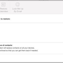 Restore Contacts Mistakenly Deleted from iCloud