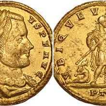 Gold coin found in Wiltshire field expected to make £30k