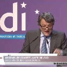 UDI - discours de Jean-Louis Borloo