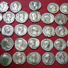 Dales treasure hunter finds rare Roman coins