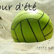 La poésie de Batistin : Sur la plage, en douceur...
