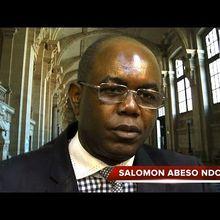 DON SALOMÓN ABESO NDONG, PRESIDENTE DE LA COALICIÓN CORED.