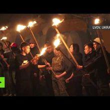 Les nationalistes ukrainiens honorent la mémoire des nazis