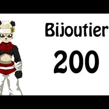 COMMENT MONTER SON BIJOUTIER LVL 200