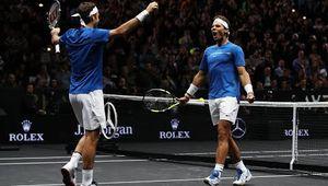 Vidéos - LAVER CUP - Le double avec Roger Federer et press conférence