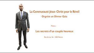 La Communauté Jésus-Christ pour le Réveil organise un Diner Gala