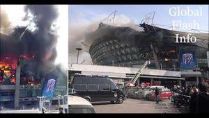 Incendie dans le Stade du Shangai Shenhua le club de Carlos Tevez