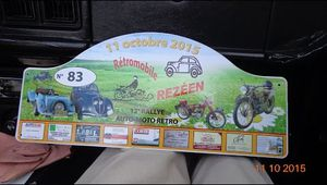 video rallye voitures du  Retromobile Rezeen 2015