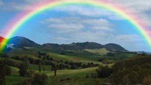 Quelque part au delà de l'arc-en-ciel..Somewhere over the rainbow....