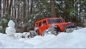 Project Wroncho - Urban Snow Bash - SCX10 - Vidéo