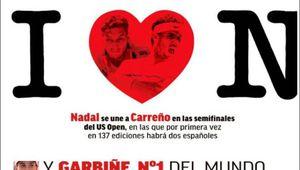 US Open - La presse espagnole et les numéros 1 en WTA et ATP.................................