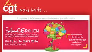 Salons des CE: 13-14 mars 2014, au Parc-Expo de Rouen