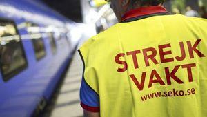 Les cheminots suédois entament leur deuxième semaine de grève ... contre l'opérateur français Véolia !
