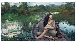 Angelina's Journeys to Cambodia for Louis Vuitton